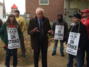 Sanders picketline_1
