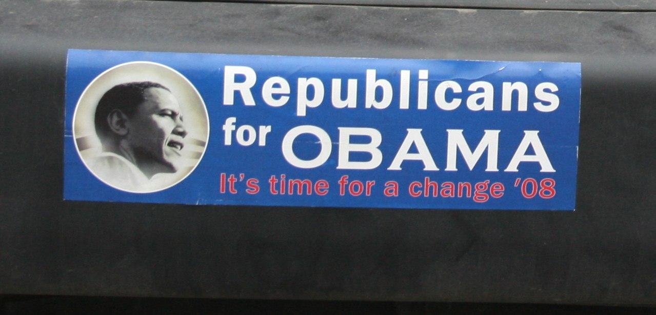 1280px-Republicans_for_obama_bumper_sticker_(cropped1)
